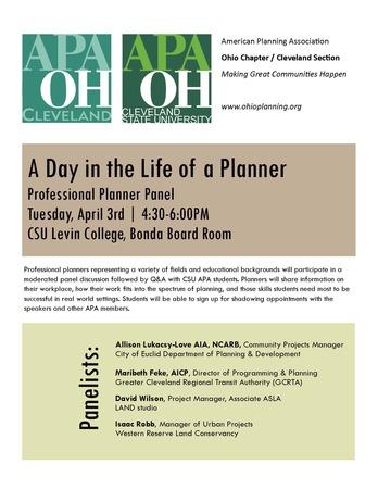 2018 CSU planner panel