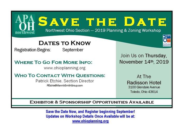 Save The Date Nwo Apa 11 14 19