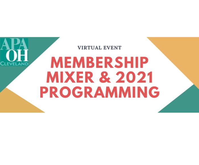 APA CLE [virtual] Mixer + Meeting